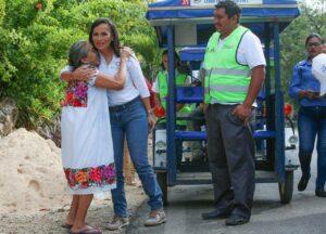 Laura Fernández Impulsa el campo en Puerto Morelos