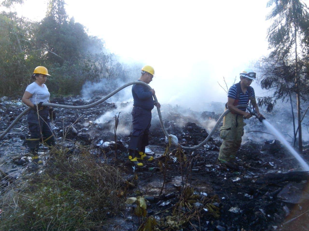 Pepenadores provocaron el incendio en Chetumal