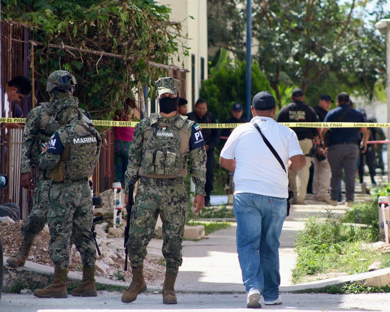Ataque armado deja dos muertos y tres lesionados en Cancún
