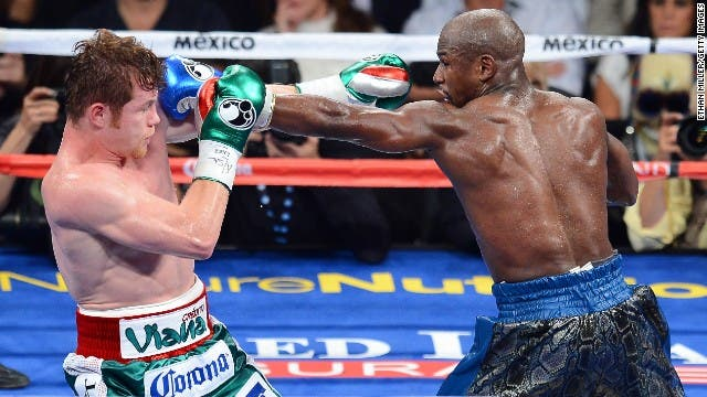 Box: 'Canelo' vs Mayweather, la revancha que costaría 30 mmdp