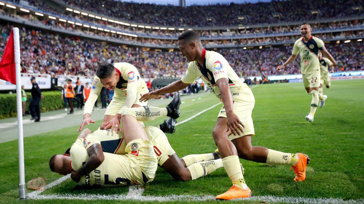 Liga MX: América gana el Clásico Nacional ante Chivas Jornada 11 Clausura 2019