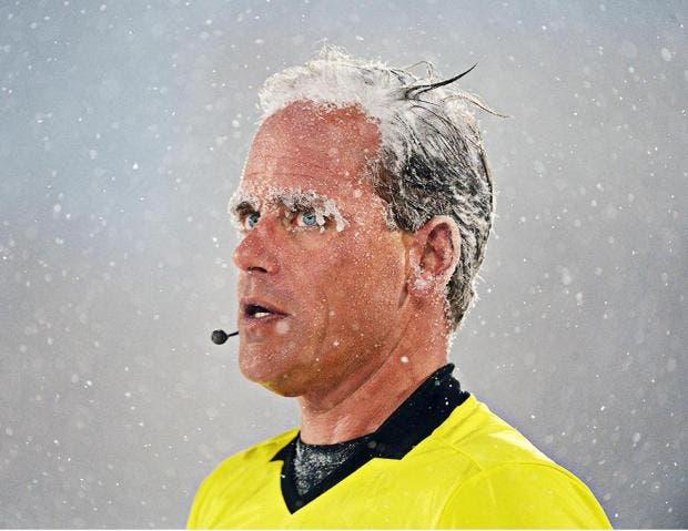 La MLS registró el partido más congelado en su historia