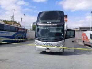 Secuestran a 19 pasajeros de un autobús