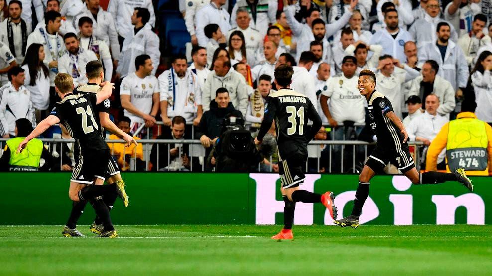 UEFA: Ajax golea y elimina al Real Madrid en Octavos de Champions League
