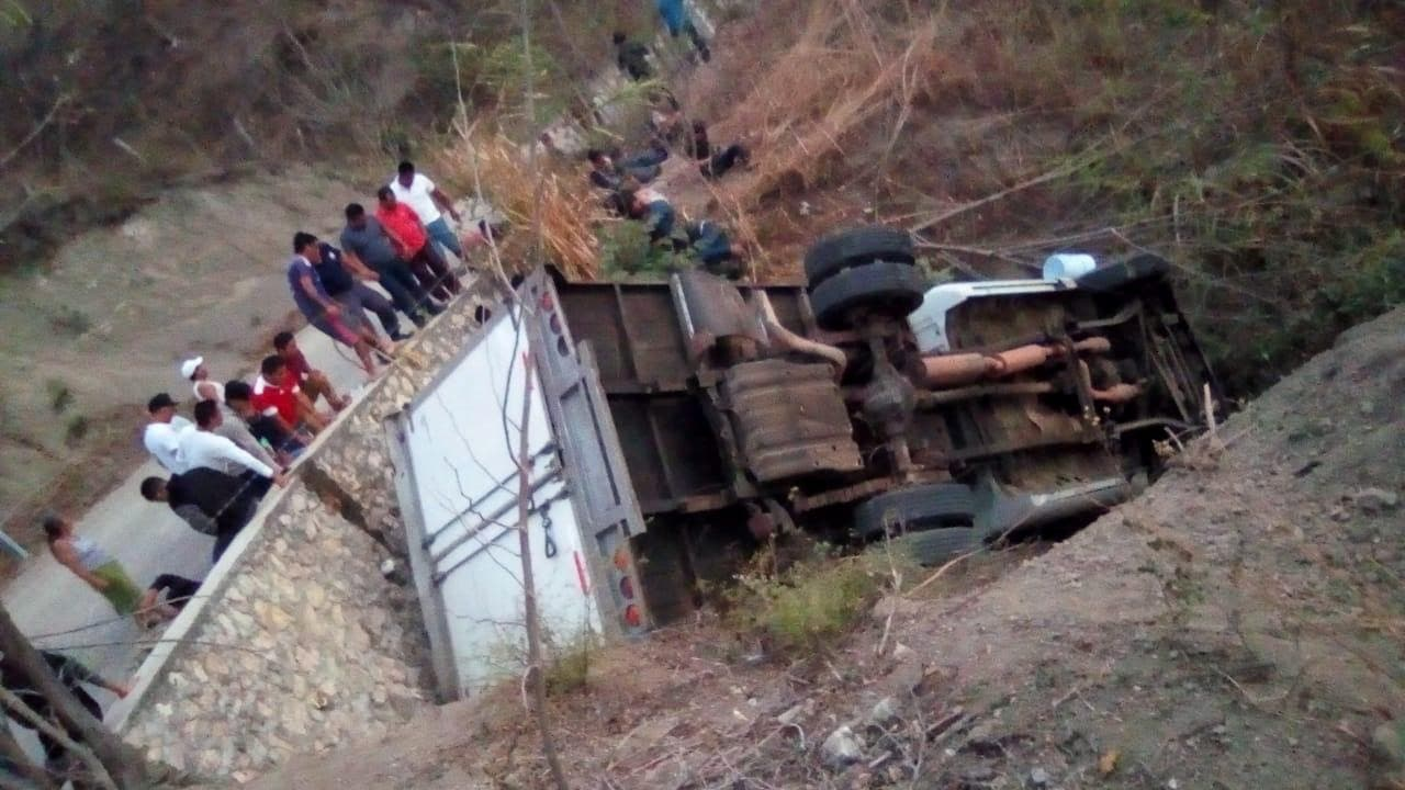 Accidente Chiapas migrantes 25 muertos
