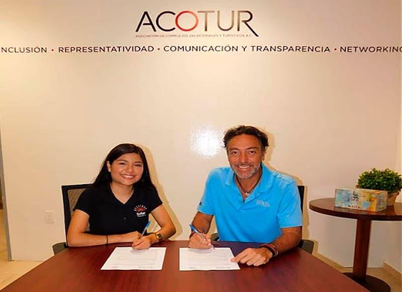 Acotur firma convenio de colaboración con la asociación ´Soñar Despierto´