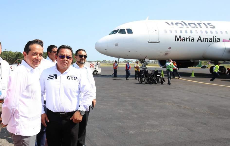 Modernizarán el Aeropuerto Internacional de Chetumal