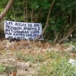 Atacan un negocio y dejan una narcomanta en Chetumal
