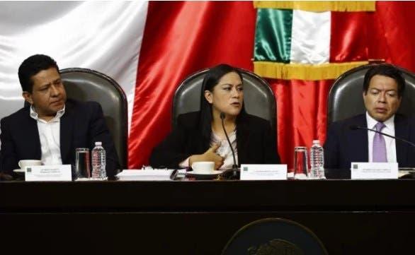 Comparecencia ante la Cámara de Diputados de la subsecretaria de Bienestar Ariadna Montiel.