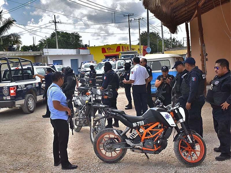 Ataque policía estatal (2)