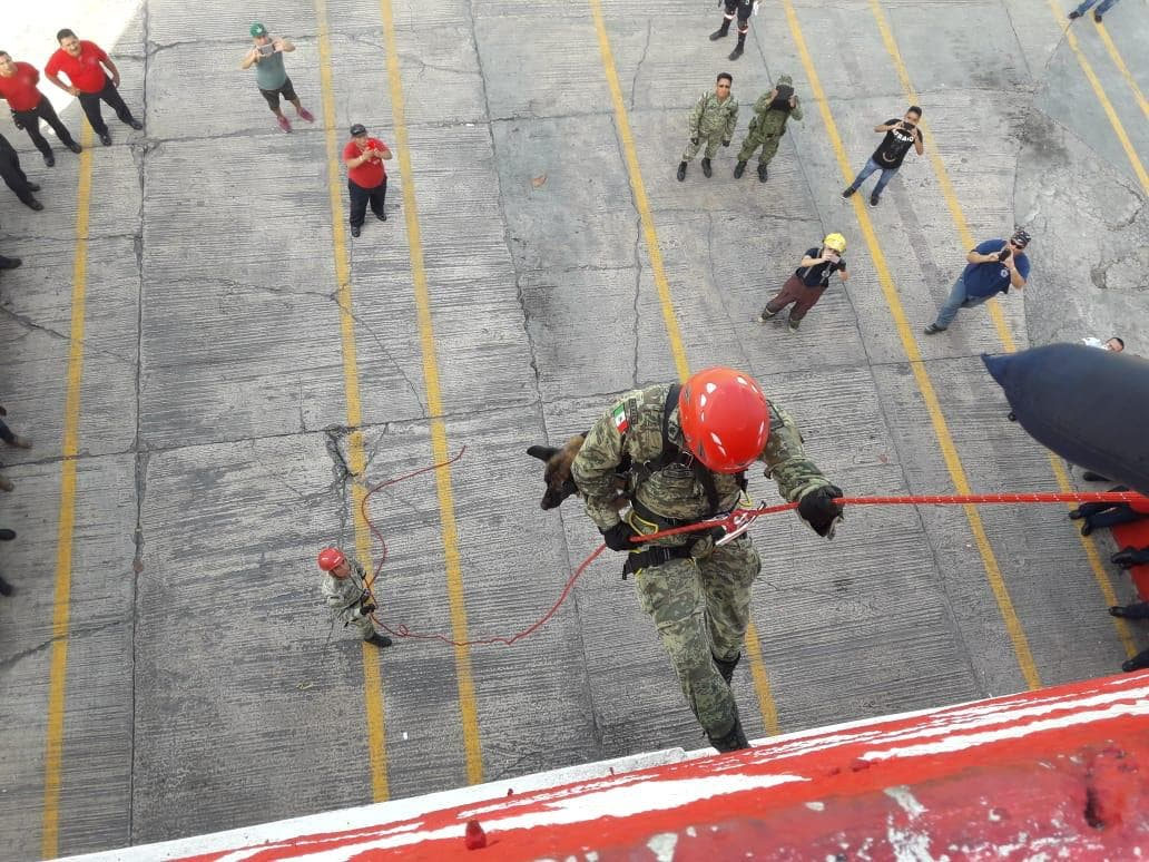Finaliza curso de Formación de Especialistas en Búsqueda y Rescate