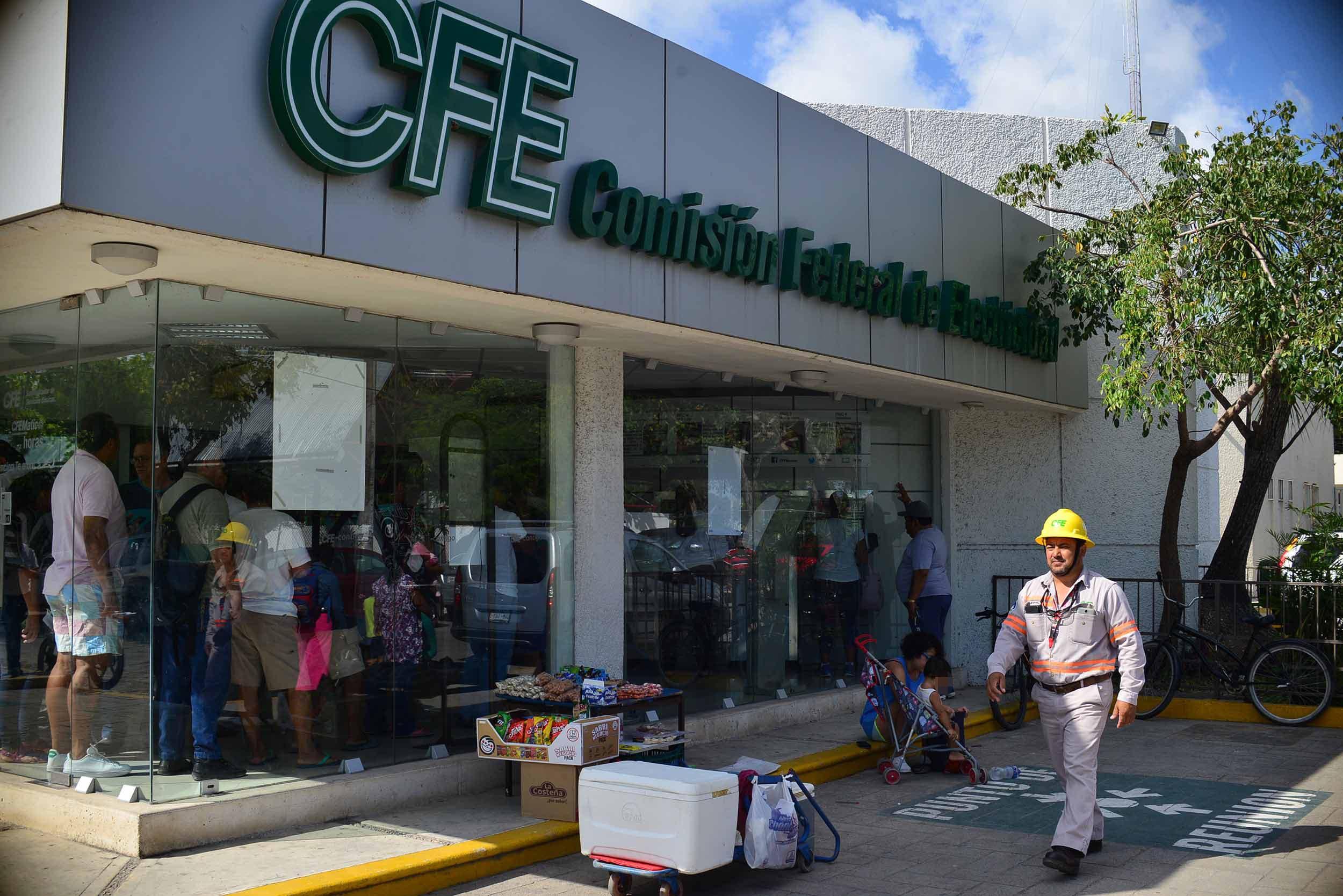 CFE solicita el apoyo policíaco ante el incremento de quejas