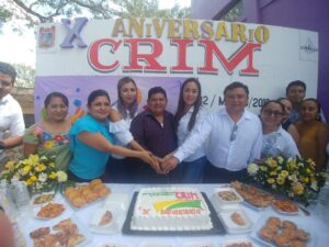 En Felipe Carrillo Puerto celebraron el décimo aniversario del CRIM