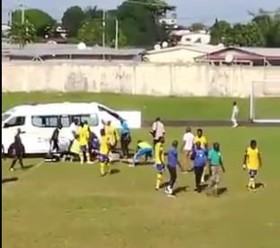 Impacta al mundo deportivo la muerte de jugador en pleno partido de futbol