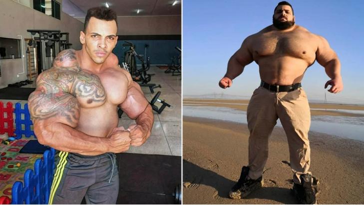 'Hulk' Brasileño reta a combate de MMA a 'Hulk' iraní