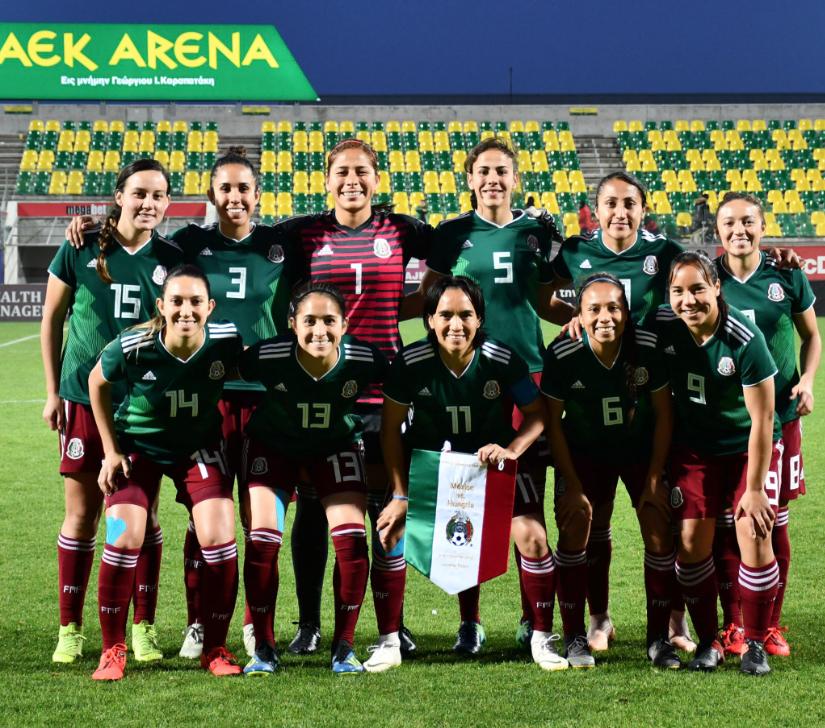 Copa Chipre: Selección Nacional Mexicana Femenil empata contra Hungría