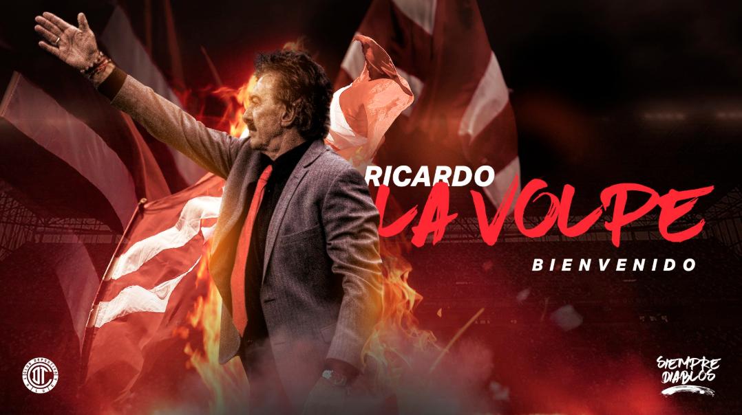Liga MX: Toluca presenta de manera oficial a Ricardo La Volpe como DT