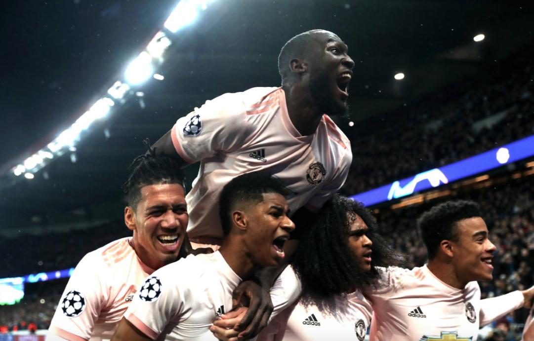 UEFA: Manchester United elimina al PSG en Octavos de la Champions League
