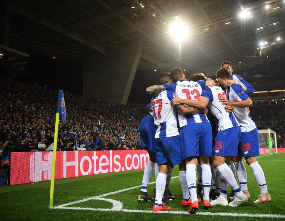 UEFA: Porto elimina a la Roma en tiempo extra de los Octavos de Champions League