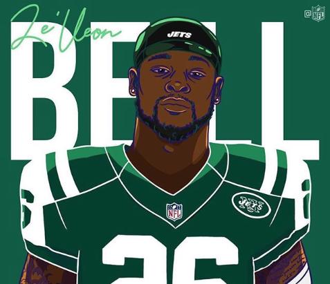 NFL: El mensaje de Le'Veon Bell tras dejar a los Steelers para llegar a los Jets