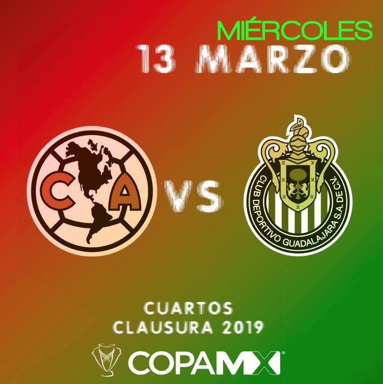 Copa MX: Horario y dónde ver en vivo América vs Chivas 'Clásico Nacional' Cuartos de Final Clausura 2019