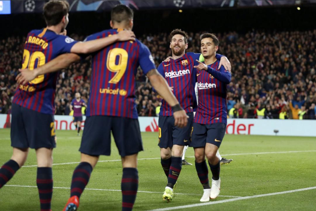 UEFA: Barcelona golea y elimina al Lyon en Octavos de Champions League