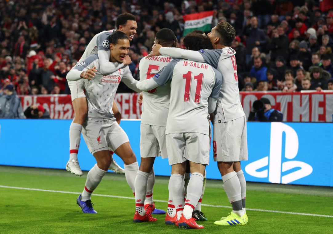 UEFA: Liverpool elimina al Bayern Munich en Octavos de Champions League