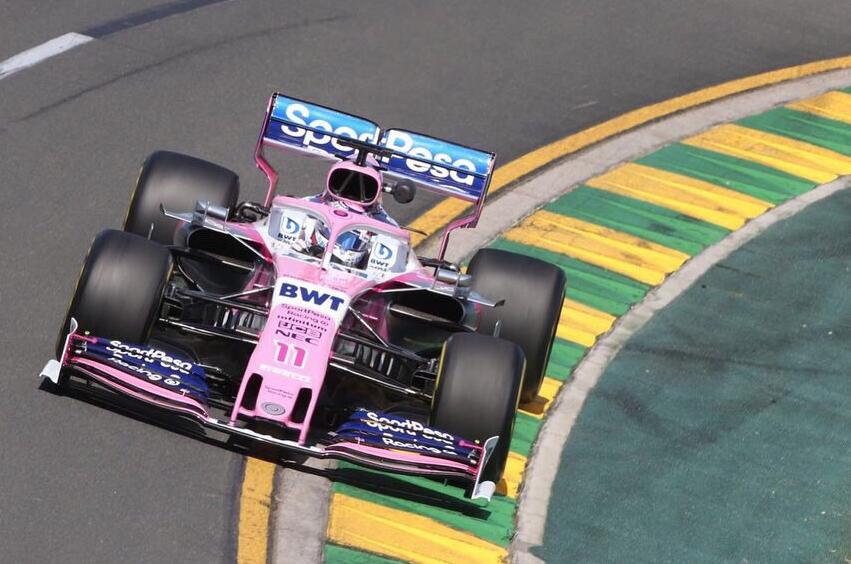 F1: 'Checo' Pérez finaliza en el lugar 13 del Gran Premio de Australia