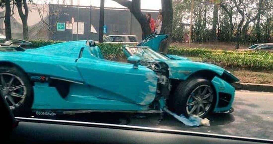 Video: ¿Cómo fue el accidente del auto más caro de México?
