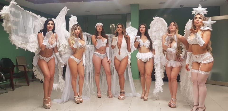 Video: Petroleros se festejan contratando edecanes en Agua Dulce, Veracruz