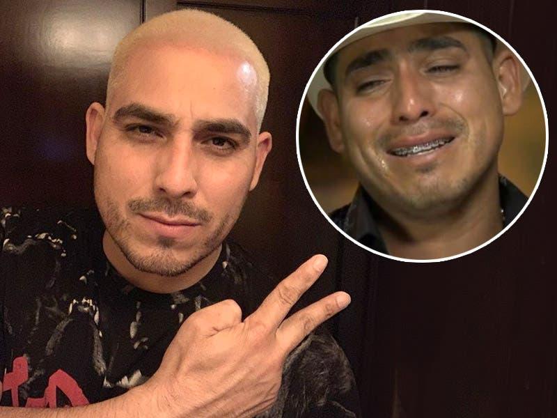 Espinoza Paz se tiñe el pelo de rubio y lo tunden en redes