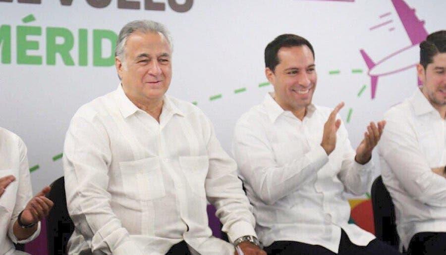 El Secretario de Turismo, Miguel Torruco y el gobernador de Yucatán, Mauricio Vila, ofrecerán mañana una conferencia de prensa