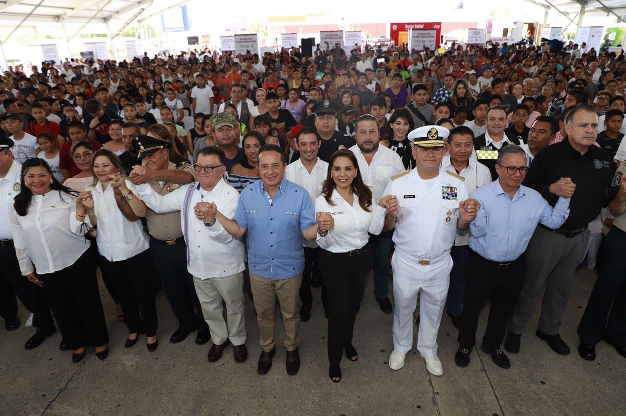 Arrancan ´Jornadas por la Paz y la Seguridad´ en Cancún