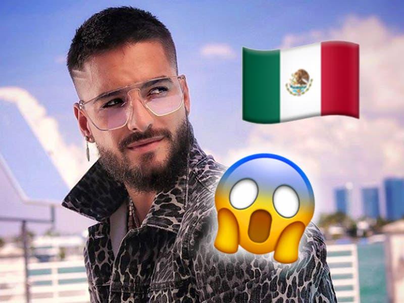 Maluma anuncia conciertos en México como parte de su gira mundial