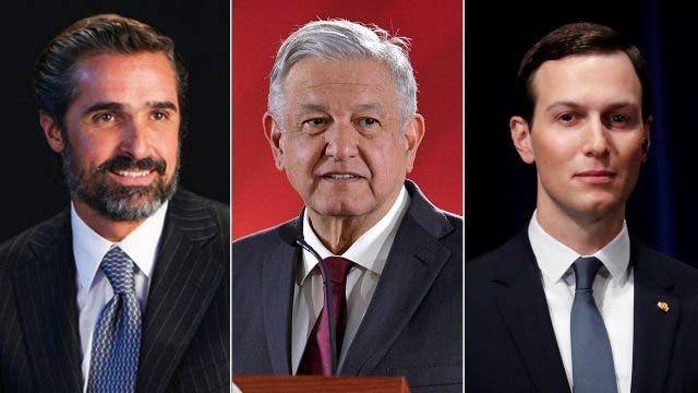 Bernardo Gómez, uno de los dos presidentes de Televisa, tuvo en su casa un encuentro diplomático, con dos visitantes peculiares: Andrés Manuel López Obrador y Jared Kushner.