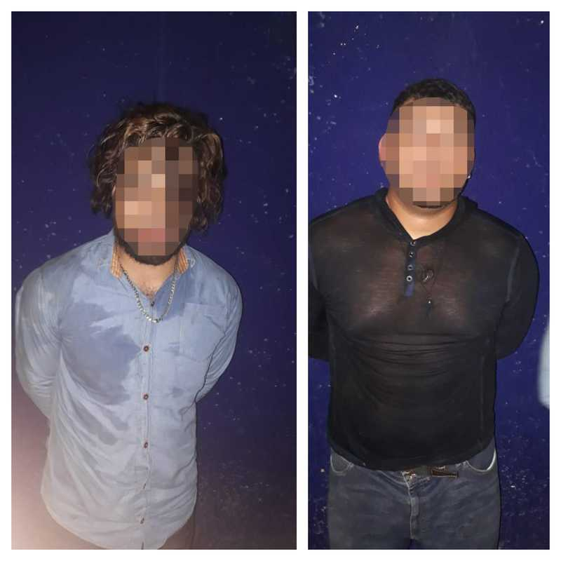 Dos de los presuntos implicados en el robo de cajeros automáticos de plaza Héroes