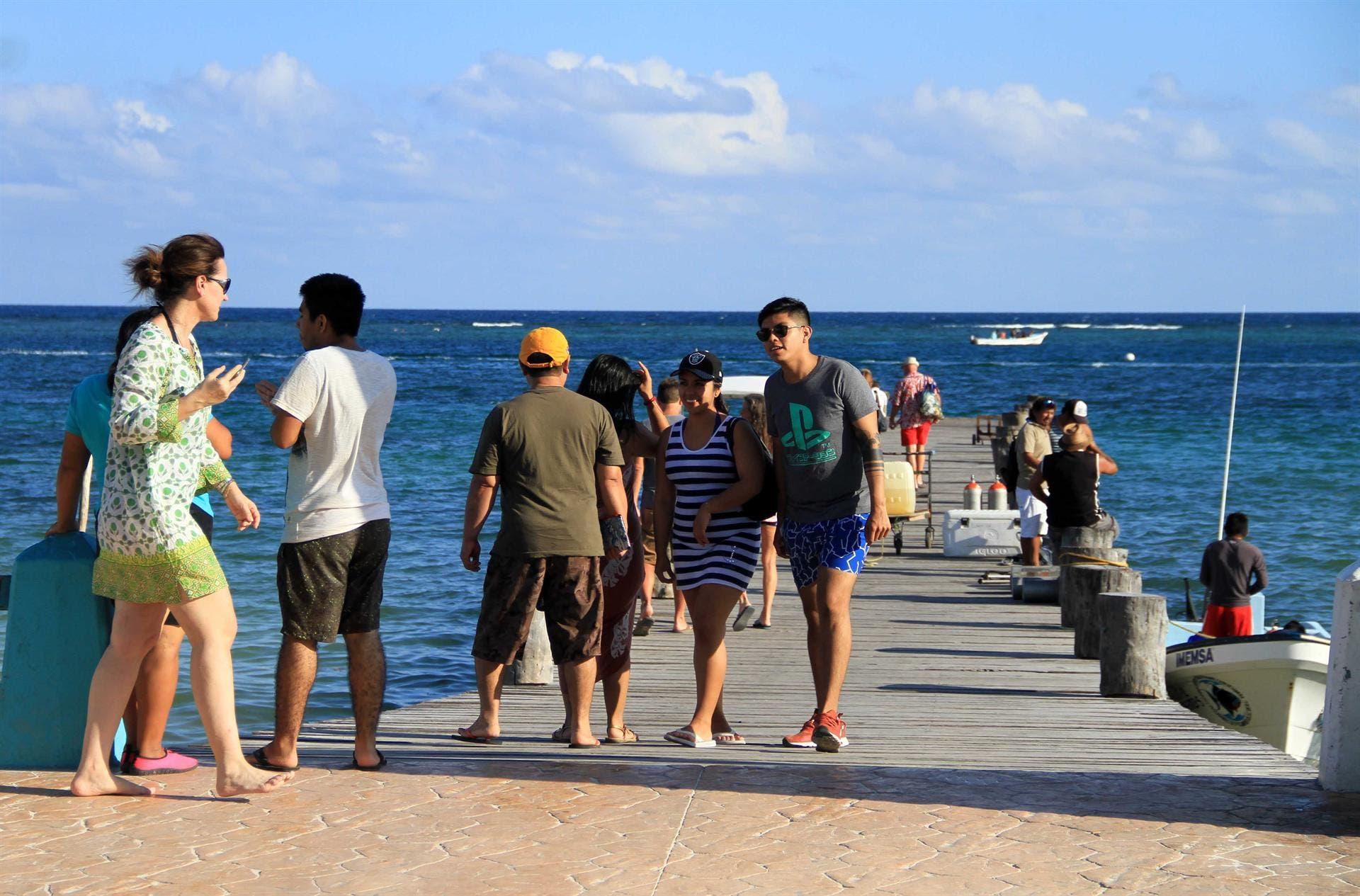Puerto Morelos contribuye al éxito turístico de Quintana Roo