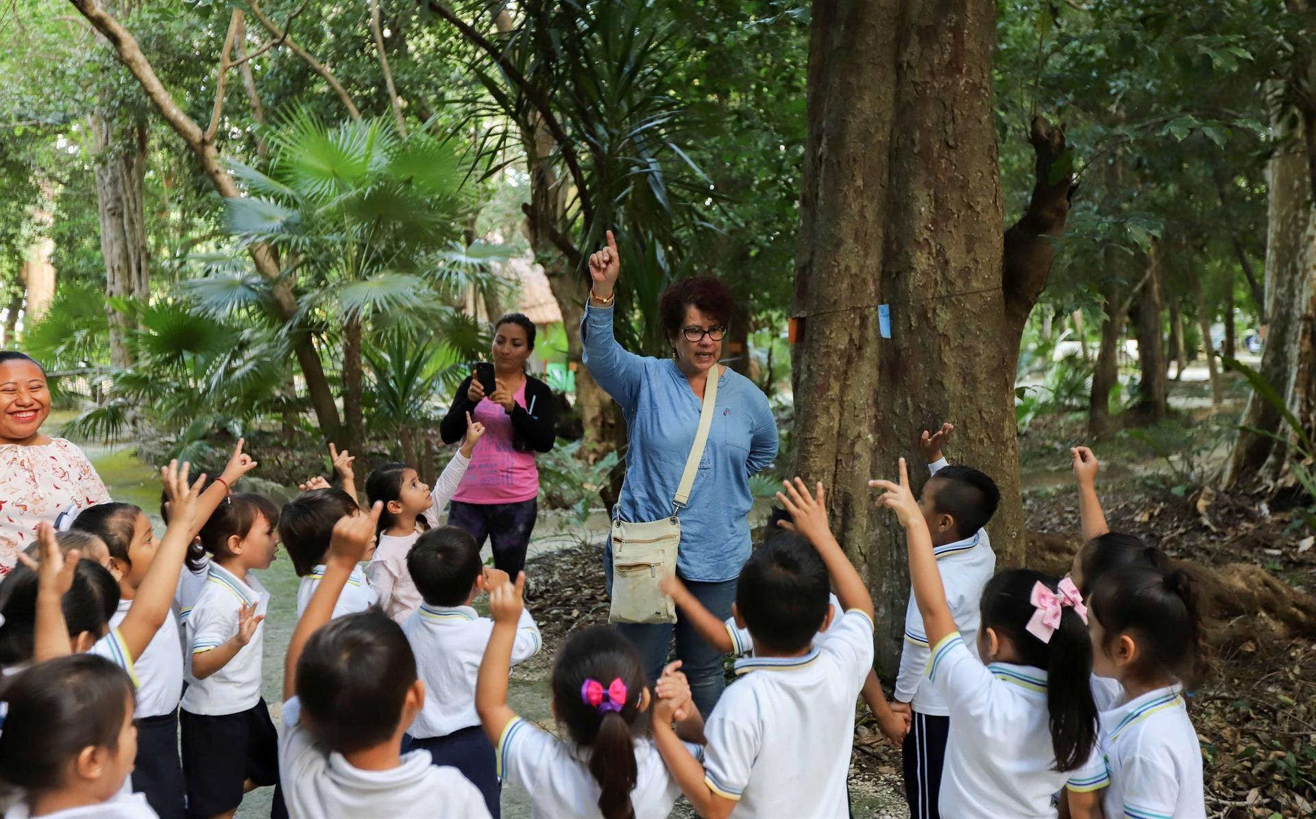 Concientizan  a los habitantes sobre la importancia de las áreas verdes