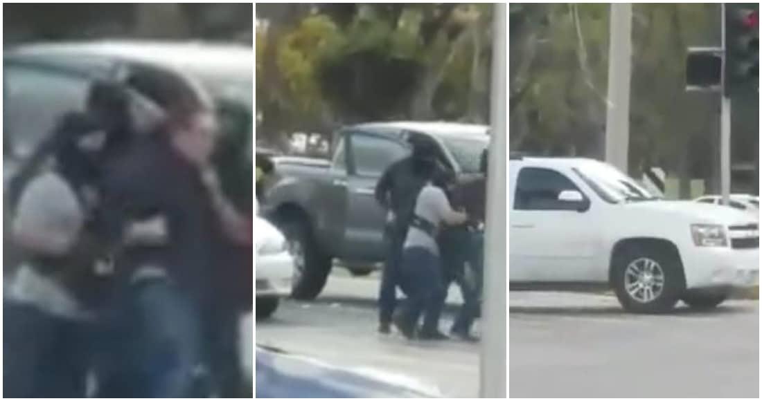 """Video: Secuestran a familiares de """"Chuy"""" Labra; miembro de los Arellano Félix"""