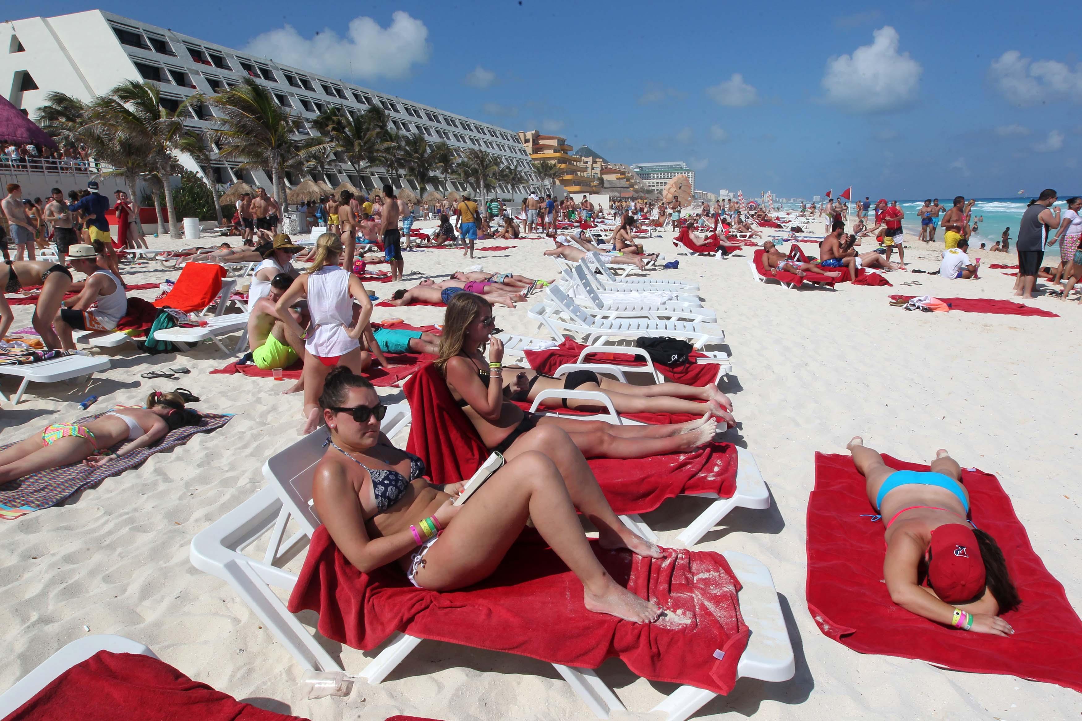 Cancún sigue siendo un destino importante para los ´Spring break´