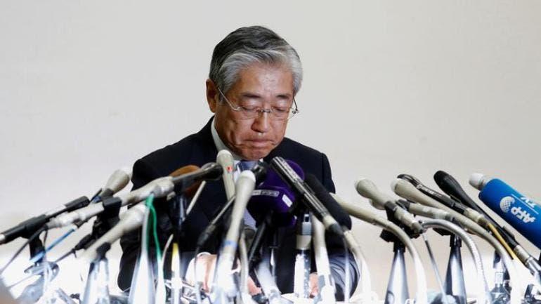 Tsunekazu Takeda, Presidente del Comité Olímpico Japonés renuncia a cargo