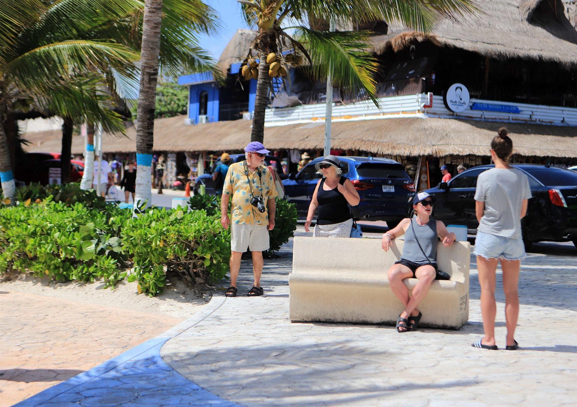 Cada día aumenta el arribo de turistas a Puerto Morelos.