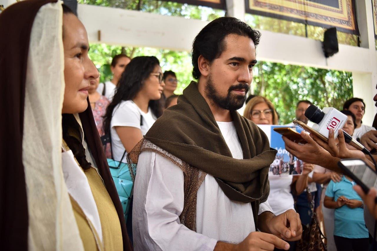 Preparan cambios para la décima edición del Vía Crucis en Playa Delfines