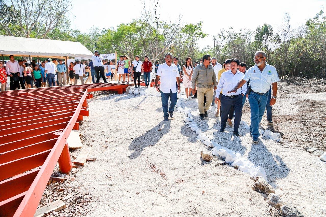 """Construyen el moderno e inclusivo """"Parque de la Alegría"""" en Tulum"""