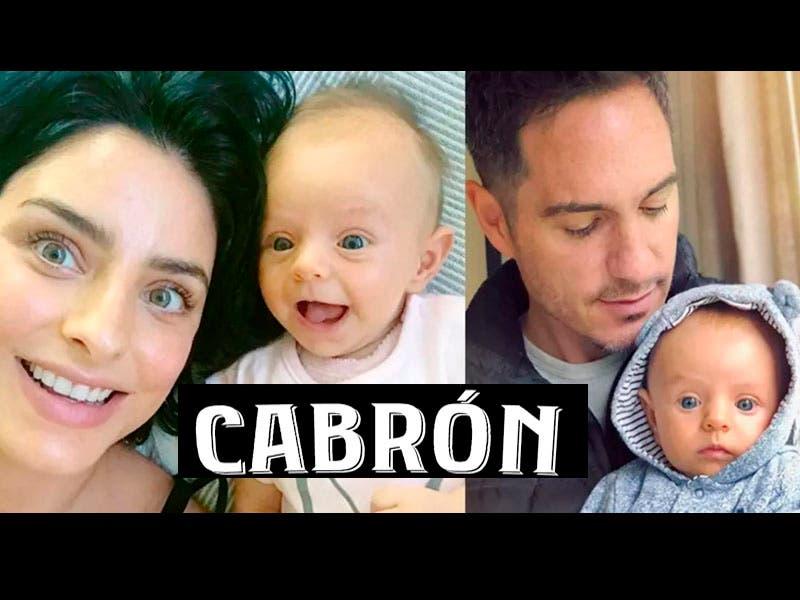 """Vídeo: Aislinn Derbez confiesa que """"Está cabrón ser mamá"""", sufre al dejar sola a su hija Kailani"""