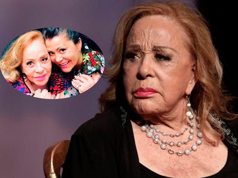 Silvia Pinal está en observación y le harán estudios de los pulmones confirma Alejandra Guzmán