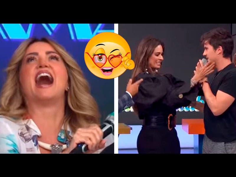 Vídeo: Galilea Montijo y Andrea Legarreta se le insinúan a cantante de Dvicio