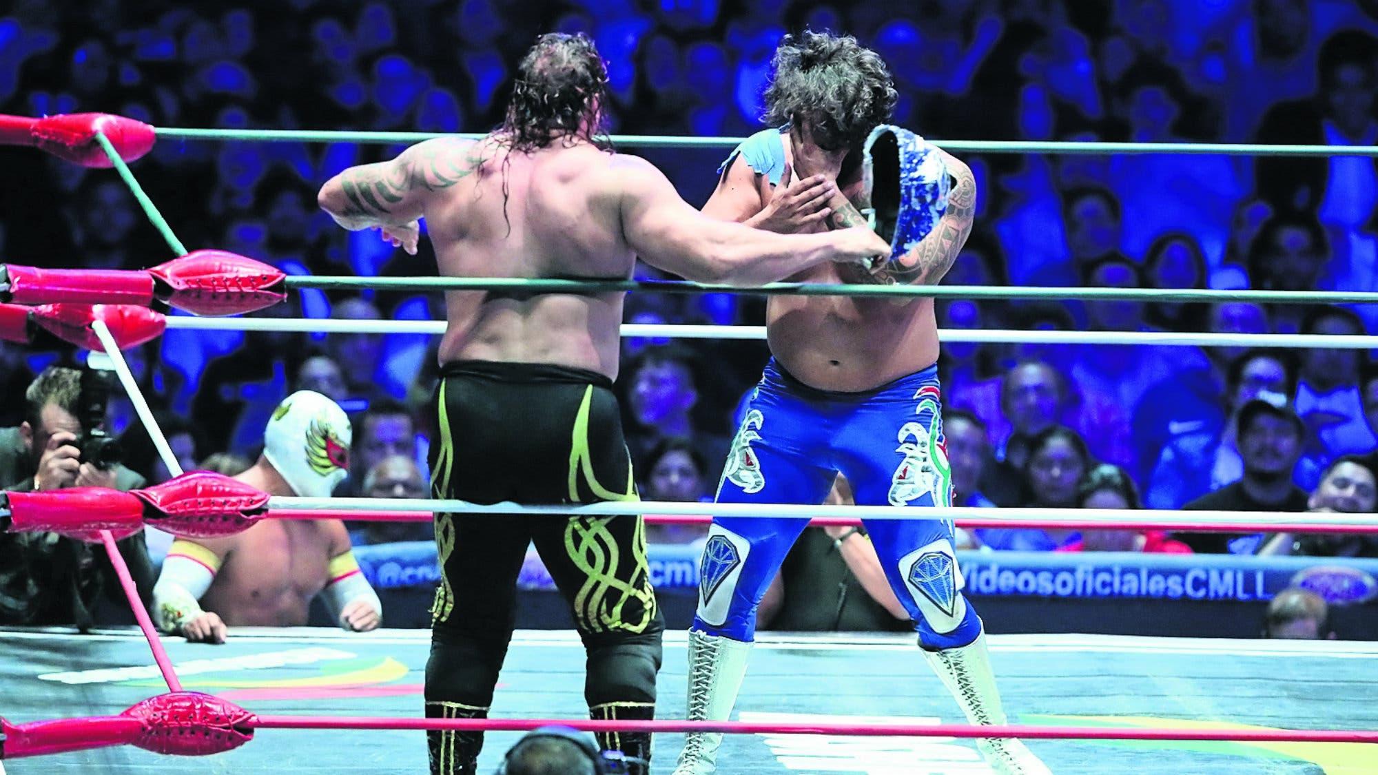 Lucha Libre: 'Diamante Azul' y Gilbert 'El Boricua' se enfrentarán en 'Máscara vs Cabellera'