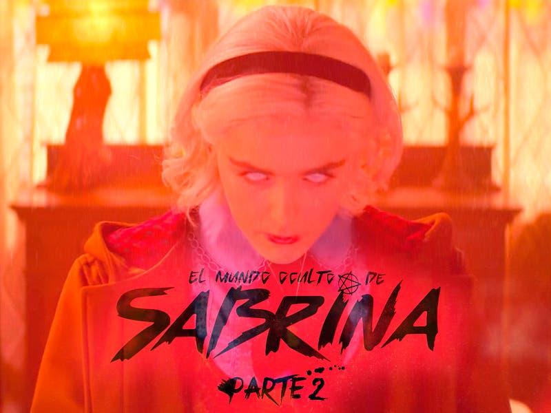 """Sabrina más siniestra y demoniaca en """"El mundo oculto de Sabrina Parte 2"""""""