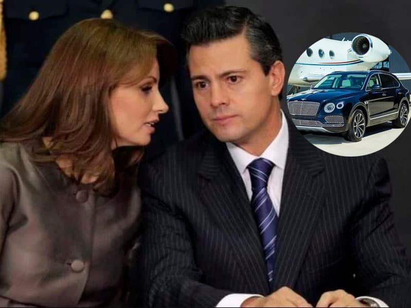 Angélica Rivera pide 35 autos y 12 años de aviones privados para divorciarse de Enrique Peña Nieto